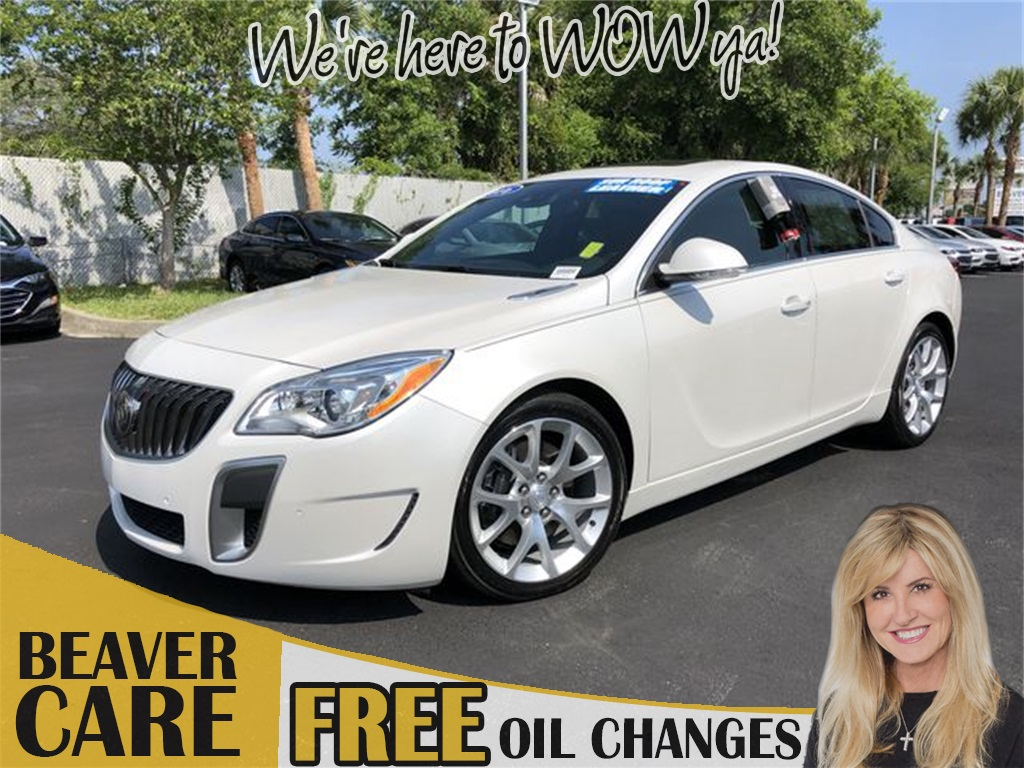 Pre-Owned 2016 Buick Regal GS