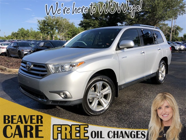 Toyota Highlander Limited >> Pre Owned 2013 Toyota Highlander Limited With Navigation Awd