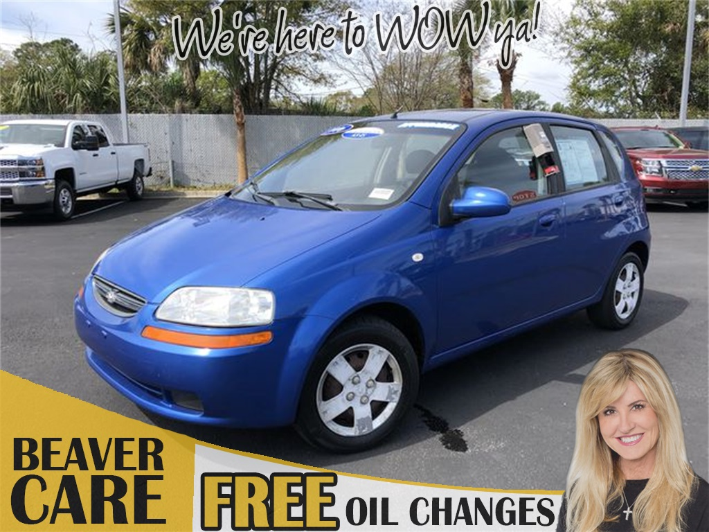 Pre-Owned 2006 Chevrolet Aveo LS